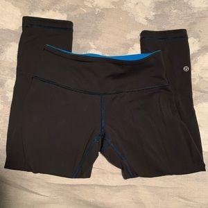 Reversible Lululemon Capri leggings